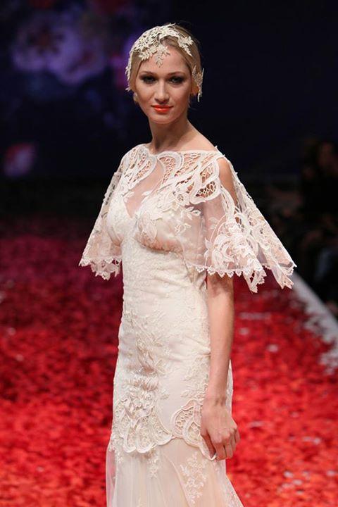 abito da sposa Amaryllis Claire Pettibone Fall 2014