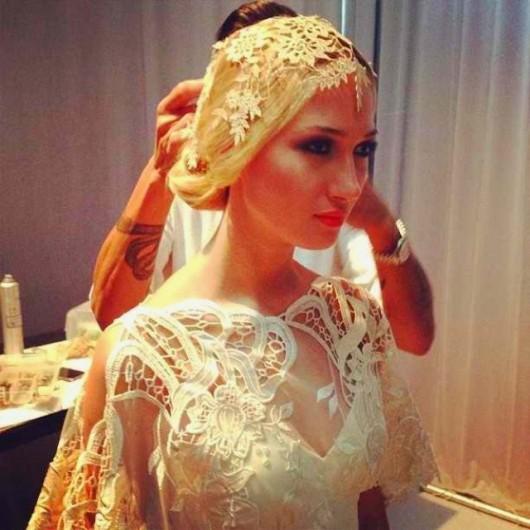 abito da sposa Amaryllis Claire Pettibone Fall 2014 foto francismartins on Instagram