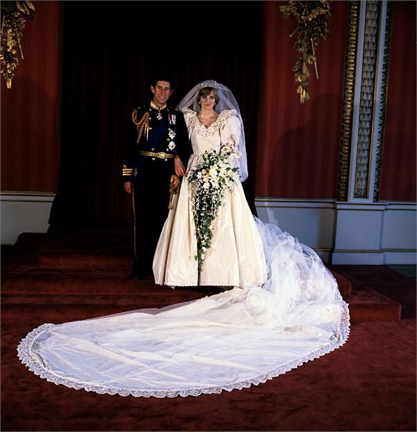 Carlo e Diana foto ufficiale