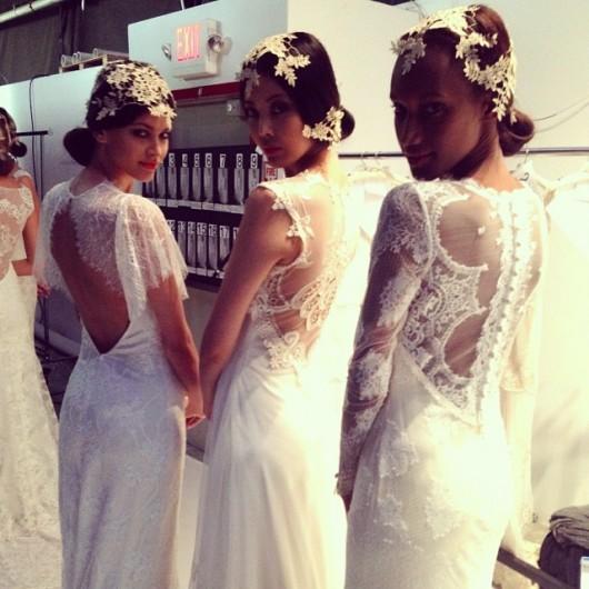 abito da sposa Claire Pettibone Fall 2014 foto jhinita on Instagram