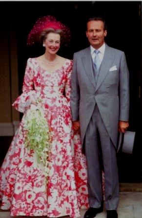Contessa Spencer nozze con Jean-François de Chambrun 1993