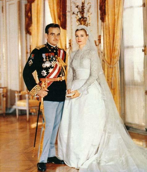Foto di nozze Grace Kelly Ranieri di Monaco