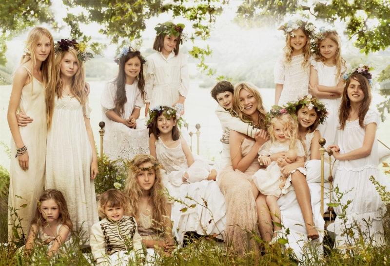 Foto di nozze Kate Moss by Testino per Vogue USA