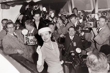Grace Kelly parte dagli Usa nel 1956- Foto da decortoadore.blogspot.com