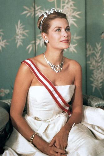 Grace Kelly principessa con gioielli Cartier - Foto da princescope.com