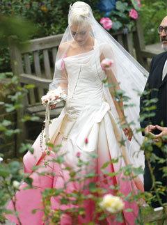 Gwen Stefani il giorno del matrimonio