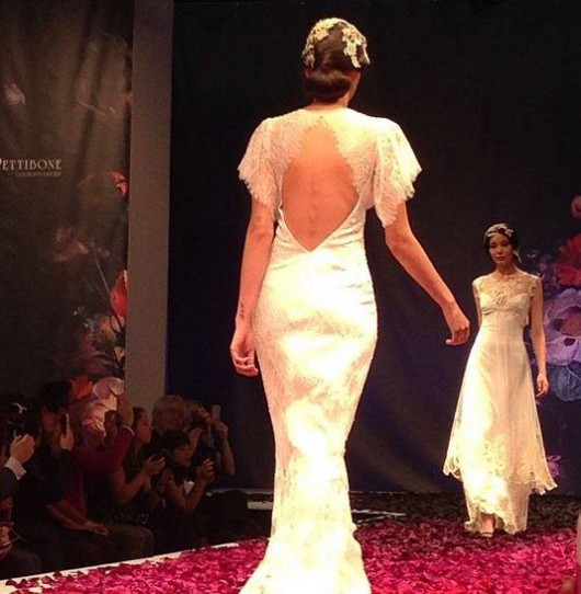 abito da sposa Juniper back Claire Pettibone Fall 2014