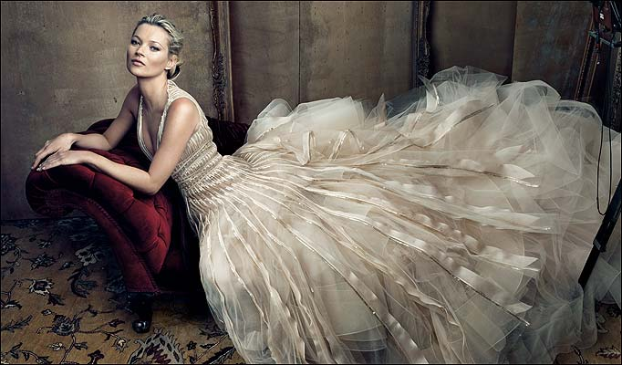 Kate Moss - Foto da Vogue USA Maggio 2009