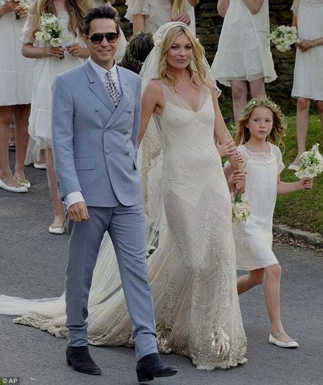 Kate Moss nozze - Foto da stylefrizz.com