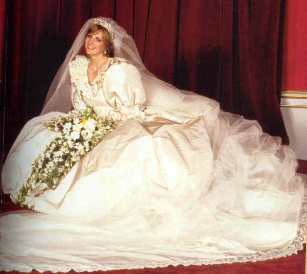 Lady Diana al matrimonio
