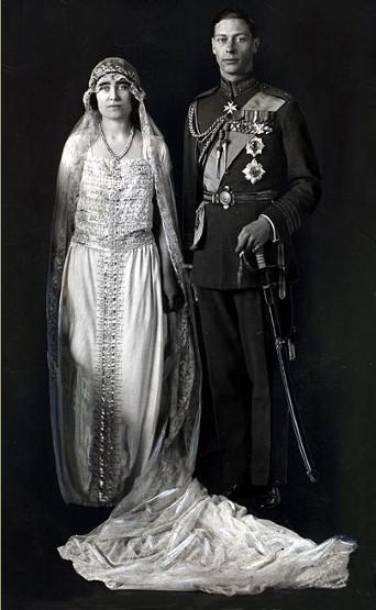 Lady Elizabeth Bowes-Lyon e Principe Alberto 1923