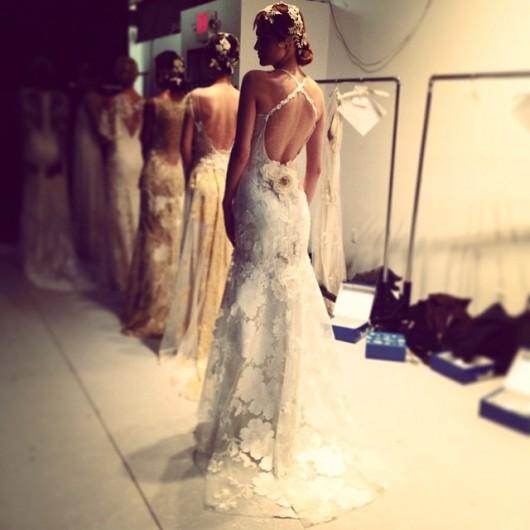 abito da sposa Mariposa Claire Pettibone Fall 2014 foto jhinita on Instagram