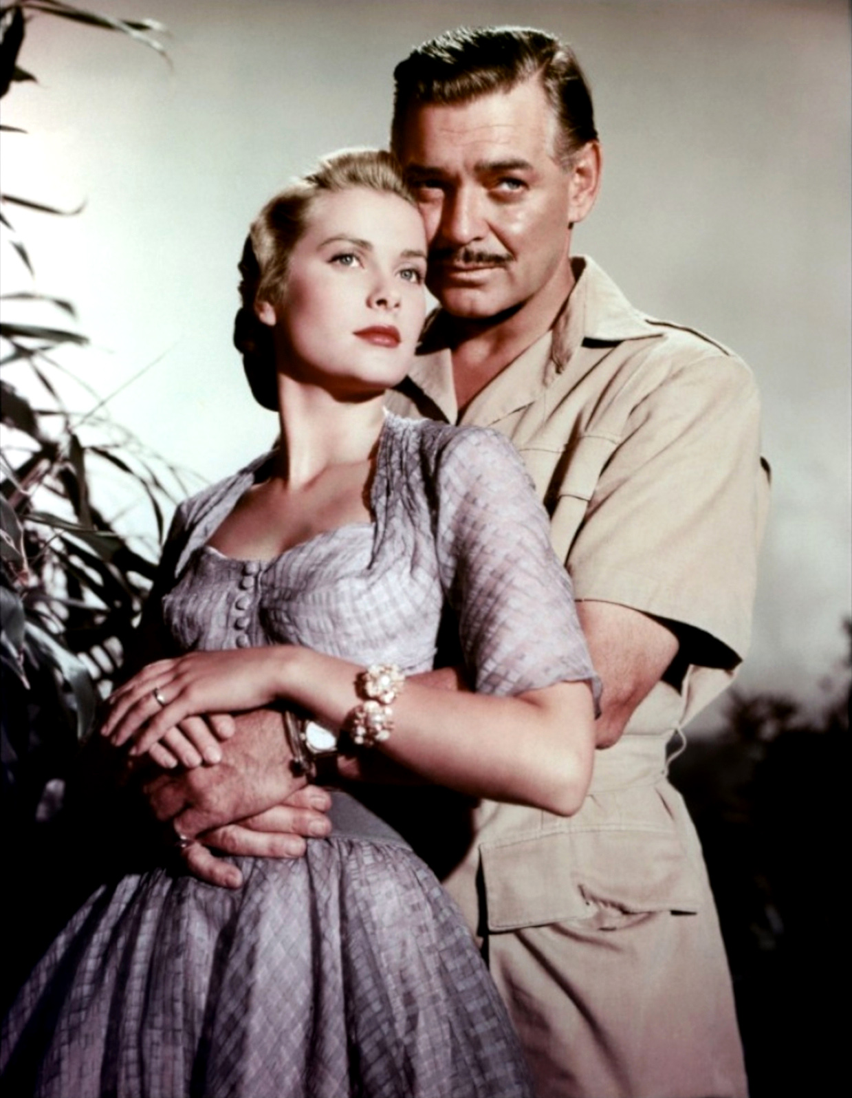 Grace Kelly e Clarck Gable in Mogambo da decortoadore.blogspot.com