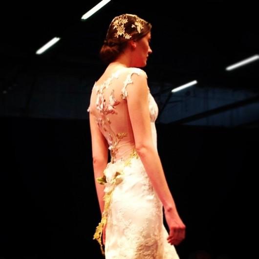 abito da sposa Paillon Claire Pettibone Fall 2014 foto lelanewyork
