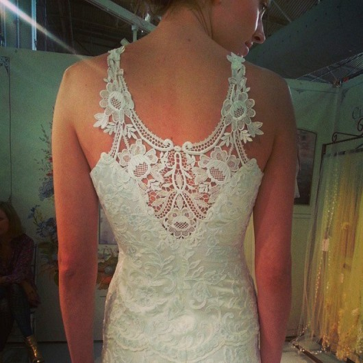 abito da sposa Poppy Claire Pettibone Fall 2014 foto guyptolemy on Instagram