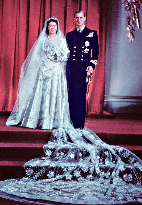 Princess Elizabeth and Prince Philip of Denmark 1947 1