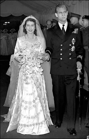 Princess Elizabeth and Prince Philip of Denmark 1947 2