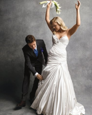 Randy Fenoli aggiusta sposa