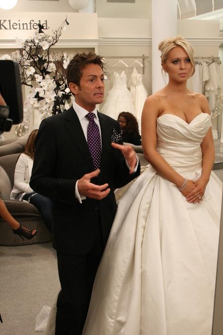 Randy Fenoli consiglia sposa da Kleinfeld