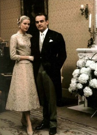 Matrimonio Grace Kelly Ranieri rito civile - Foto Bettmann-Corbis