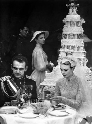Torta nuziale Grace Kelly Ranieri di Monaco - Foto da vanityfair.it