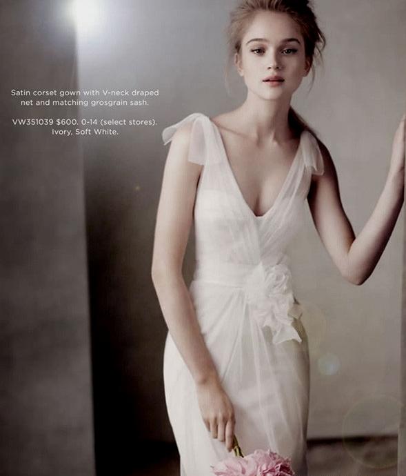 Collezione sposa White di Vera Wang Fall 2011