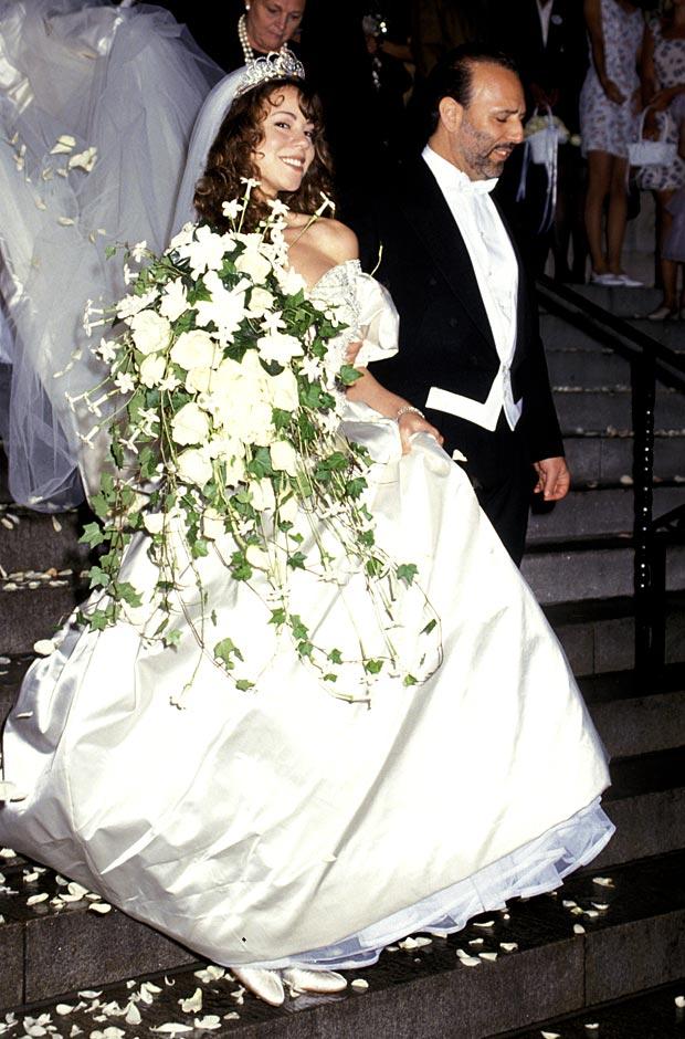 mariah carey nozze con tommy mottola 1993