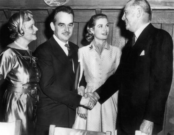 Il Principe Ranieri conosce la famiglia Kelly - Foto AFP/AFP/Getty Images