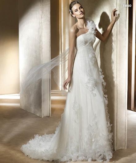 Pronovias abito da sposa Tirso da collezione Fashion 2011