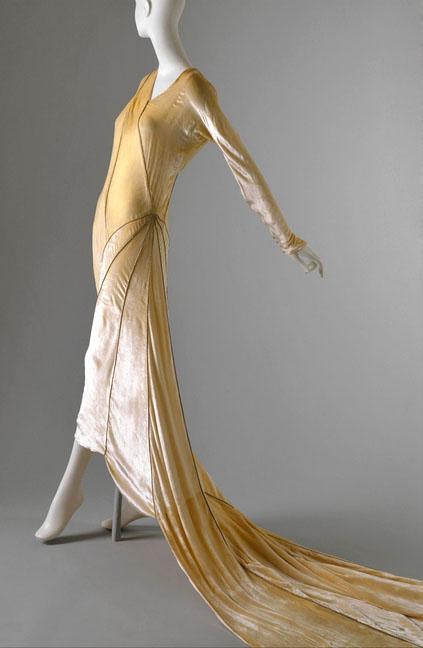 Abito da sposa Vionnet 1929 - Foto da media.coletterie.com