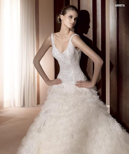 Pronovias abito da sposa Arista da Collezione Costura 2011