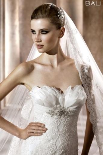 Pronovias abito da sposa Bali collezione Fashion 2012