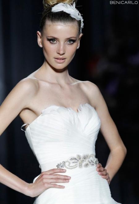 Pronovias abito da sposa Benicarlo da collezione The Dreams 2012