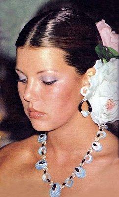 Caroline di Monaco negli anni 70 da iamthechildofthemoon.blogspot.com