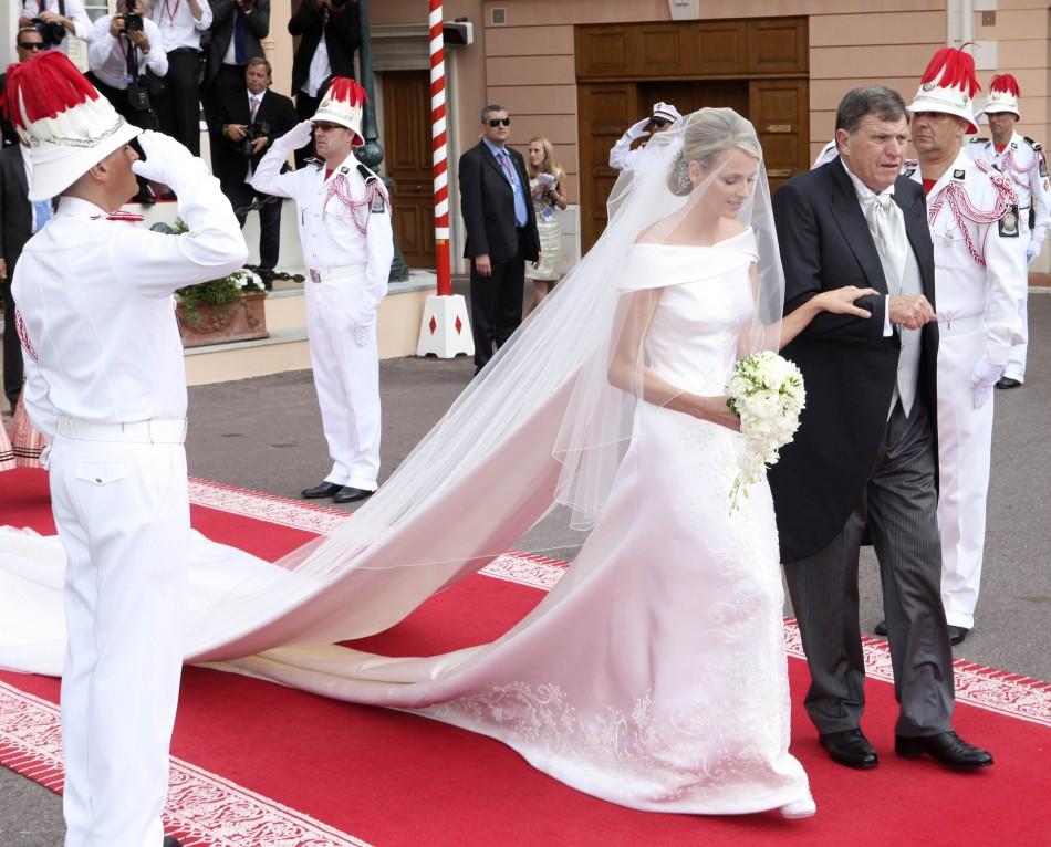 Charlene e Mike Wittstock alle nozze - Foto da ibtimes.com