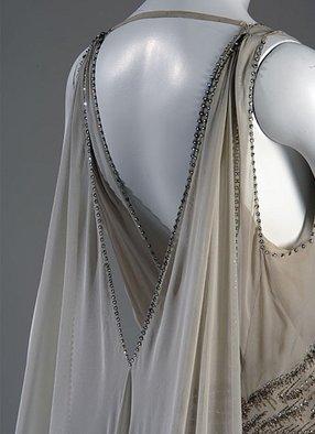 Dettaglio abito Vionnet