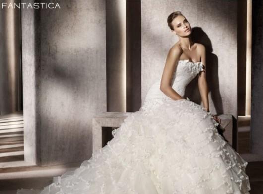 Pronovias abito da sposa Fantastica da collezione The Dreams 2012