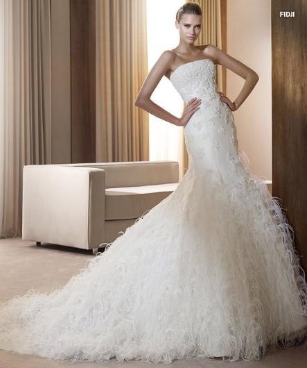 Pronovias abito da sposa Fidji da collezione The Dreams 2011