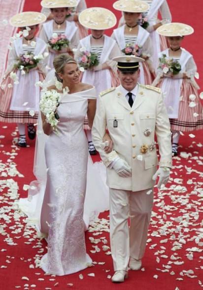 Alberto e Charlene di Monaco - Foto da trendfashionstyle.com