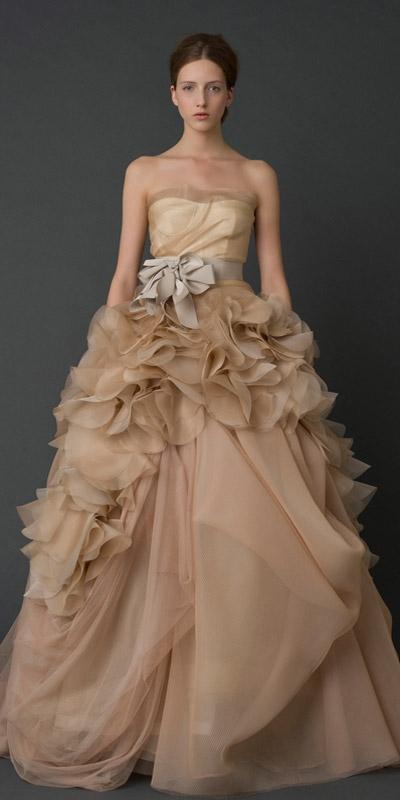 abito da sposa Hayley Vera Wang Spring 2012