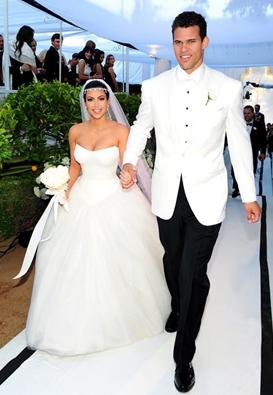 Kim Kardashian sposa Kris Humphries