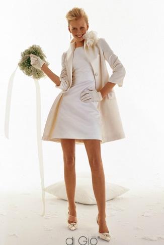 Le spose di Giò abito da sposa corto 2011 collezione Classica