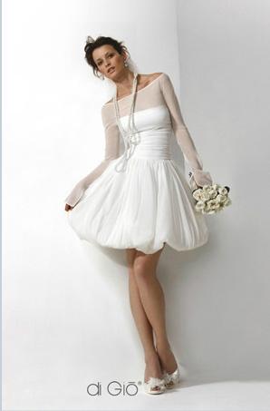 Le spose di Giò corto 2011 abito da sposa Collezione Informale