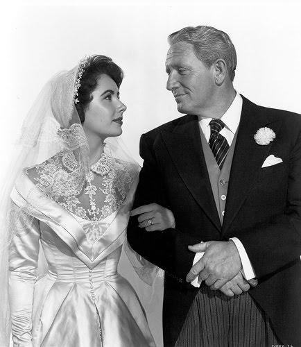 """Liz Taylor e Dick Tracy in """"Il padre della sposa"""""""