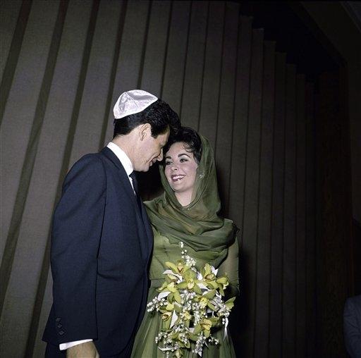 Liz Taylor nozze con Eddie Fisher