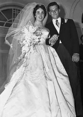 Liz Taylor nozze con Nicky Hilton