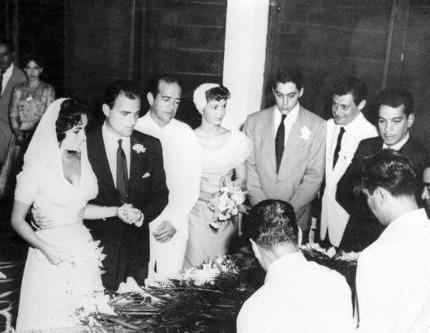 Liz Taylor nozze con Mike Todd