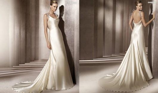 Pronovias abito da sposa Manuel Mota 2012 modello Embrujo