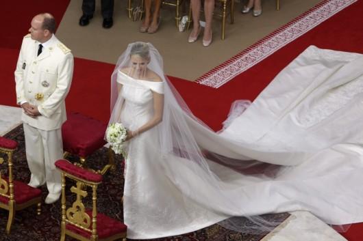 Charlene Wittstock wedding with Princip Albert II of Monaco - Foto Reuters
