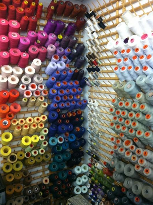 Palette di colori tessuti Vera Wang - Foto da Vera Unveil